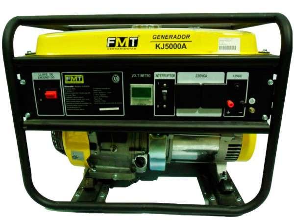 GENERADOR 4T 13HP 5500W E/ELECTR. (KJ5000A-D) - BLACK PANTHER - FMT - NAKAMA
