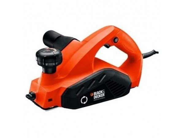 CEPILLO ELÉCTRICO 82mm 650W 15000RPM BD7698 - BLACK AND DECKER