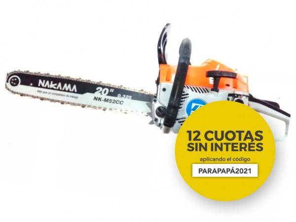 "MOTOSIERRA 2 TIEMPOS 20"" ESPADA 3.0HP OFERTA DDP - BLACK PANTHER - FMT - NAKAMA"