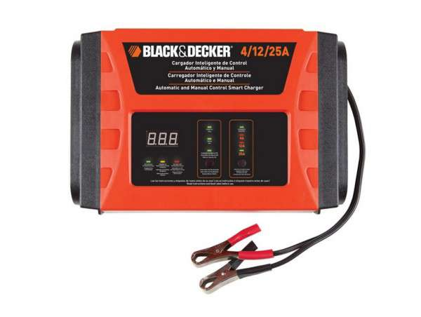 CARGADOR DE BATERIA 12v. 25AMP BC25 - BLACK AND DECKER