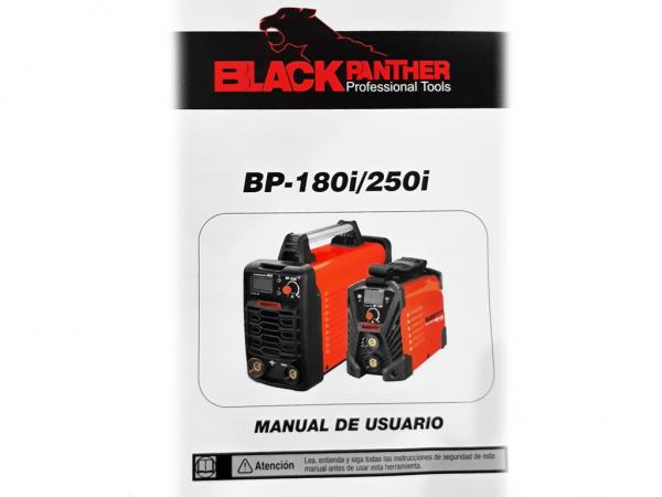 SOLDADORA INVERTER HASTA 2.5MM OPCIONAL TIG BP-180i - BLACK PANTHER - FMT - NAKAMA