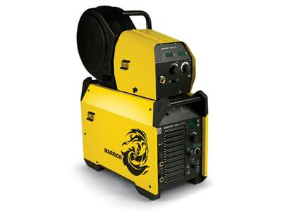 SOLDADORA INVERTER WARRIOR 500i + FEED 304 Y TORCHA PSF 405 - ESAB