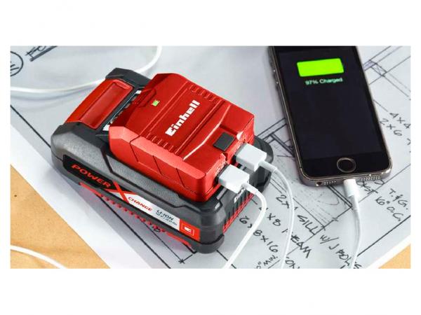 CARGADOR USB TE-CP 18v 2 ENTRADAS S/BAT. EINHELL - EINHELL