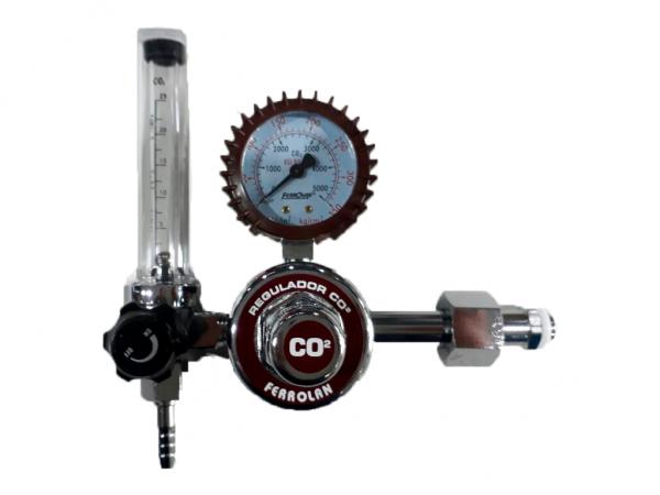 REGULADOR CAUDALIMETRO CO2 - BA WELDING