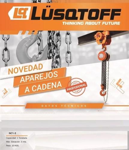 APAREJO A CADENA 1TN 3.0Mts. - LUSQTOFF