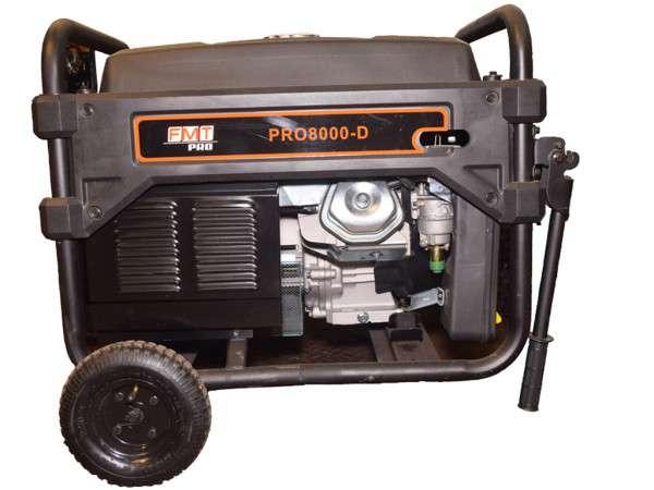 GENERADOR 4T.14HP 6500W E/ELECTR.(PRO8000-D) - BLACK PANTHER - FMT - NAKAMA