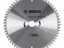 DISCO DE SIERRA CIRCULAR ECO 184mm 60Dtes. - ACCESORIOS BOSCH