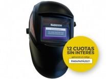 MÁSCARA CARETA FOTOSENSIBLE ECONÓMICA AUTOMÁTICA 1/25000 DDP - BLACK PANTHER - FMT - NAKAMA