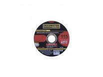 DISCO DE CORTE OXIDO ALUMINIO 115x1.6x22.2mm C/RECTO - BTA CROSSMASTER