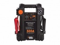 ARRANCADOR AUXILIAR CON COMPRESOR INFLADOR 12V 500A PORTÁTIL - BLACK AND DECKER