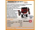 Router Fresadora 1200w Rebajadora Tupi 55mm Te-ro 55 - EINHELL